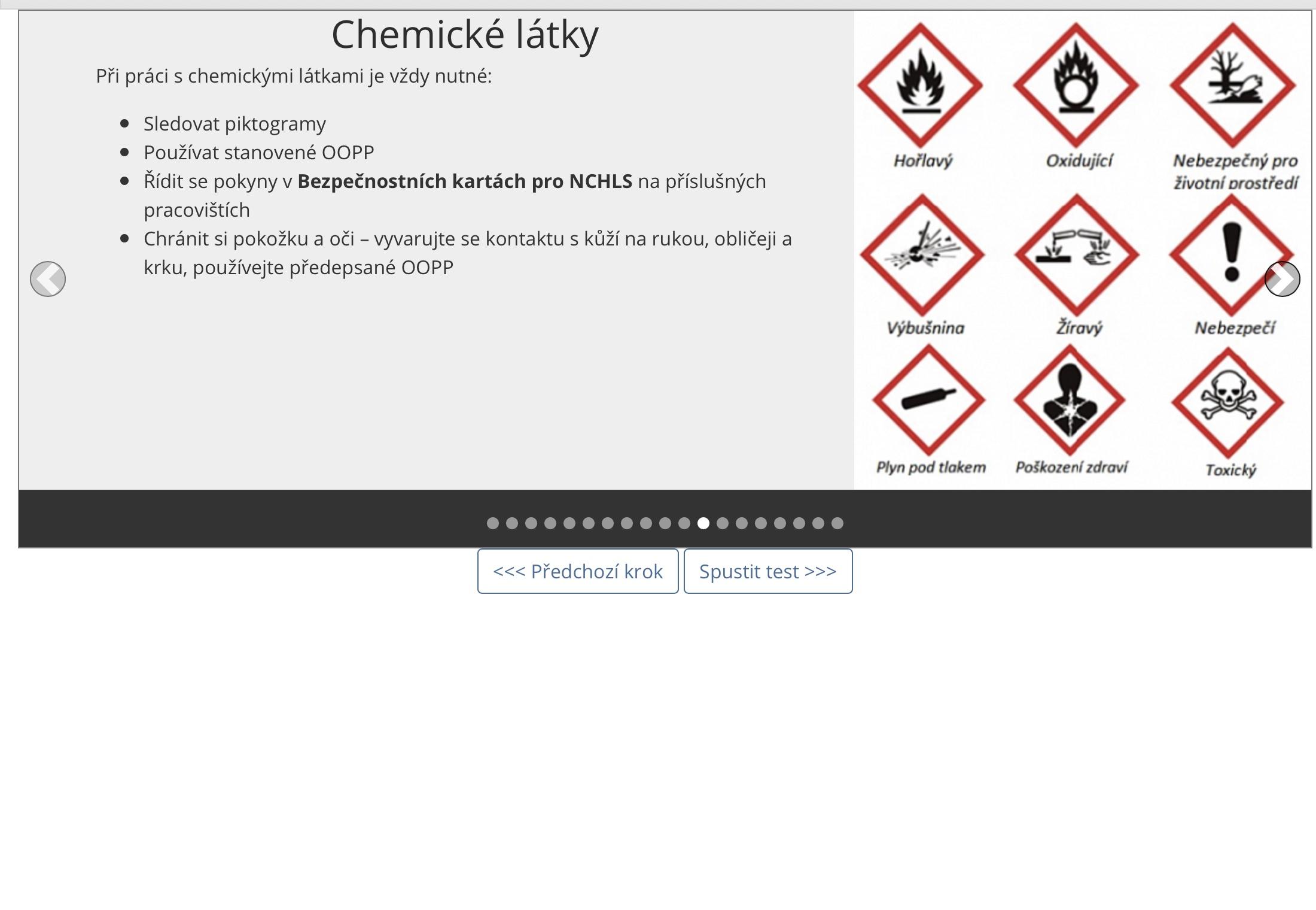 QC Safety - ukázka ze vstupního školení